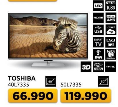 """Televizor LED 50"""" l7335"""