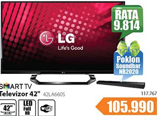 """Televizor TV 42"""" LED Cinema 3D Smart 42LA660S"""
