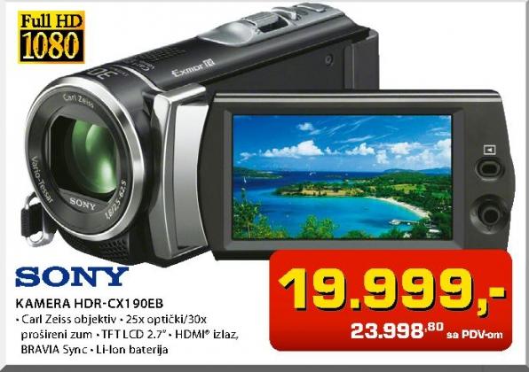 Kamera Hdr-Cx190Eb