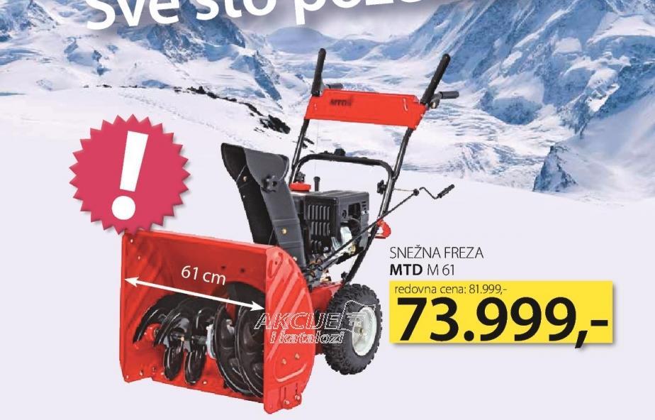 Snežna freza M 61