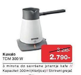 Aparat Za Pripremu Kafe TCM 300W