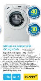 Mašina za pranje veša GC 1072 D2/1