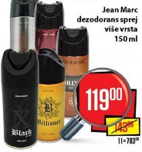 Dezodorans Jean Marc