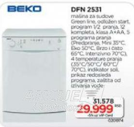 Mašina za sudove  DFN 2531