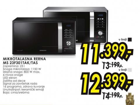 Mikrotalasna Rerna MS 23F301 TAS