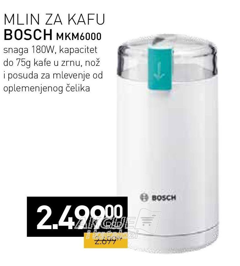 Mlin za kafu MKM 6000