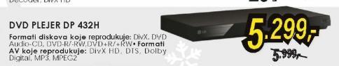 DVD plejer DP 432H