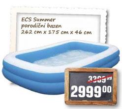 ECS summer porodični bazen