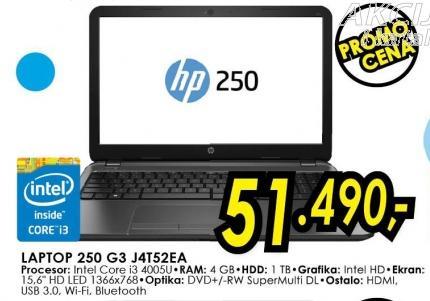 Laptop 250 G3 J4t52ea