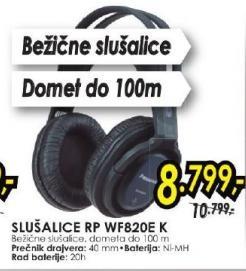 Slušalice RP WF820E K