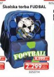 Školska torba Fudbal