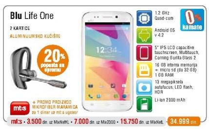 Mobilni telefon Life One