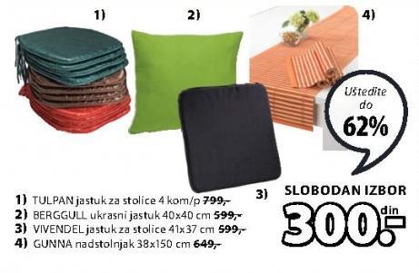 Jastuk za stolice Vivendel