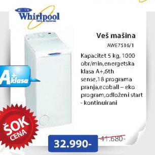 Mašina za veš AWE7516/1