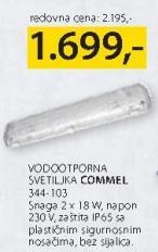 Vodootporna svetiljka Commel 344 103