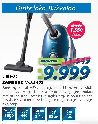 Usisivač Vcc5455
