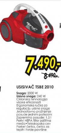 Usisivač TSBE 2010