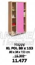 Polica Happy Kl Pol 80x153