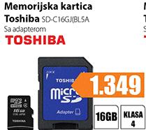 Memorija MicroSD SD-C16GJ(BL5A