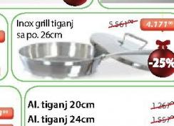 Tiganj Inox grill