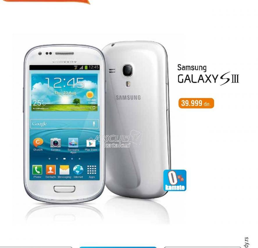 Mobilni telefon Samsung i8190 Galaxy S3