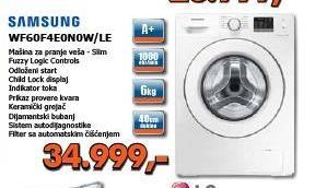 Mašina za pranje veša WF60F4E0N0W/LE