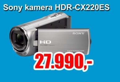 Digitalna kamera HDR-CX220ES