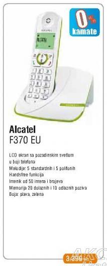 Bežični telefon F370 Eu