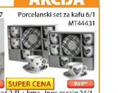 Porcelasnki set za kafu MT44431