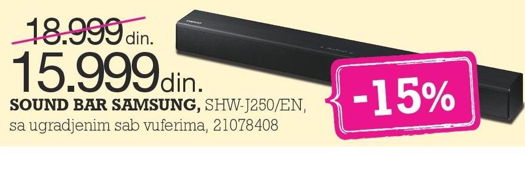 Sound Bar HW-J250