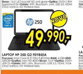 Laptop 250 G2 FOY85EA