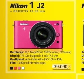 Fotoaparat digitalni 1 J2