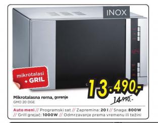 Mikrotalasna Rerna GMO20DGE