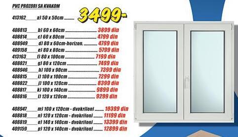 Prozor PVC