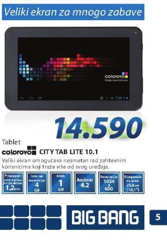 Tablet PC CITY TAB LITE 10.1