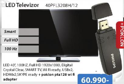 Televizor LED 40PFL3208H/12