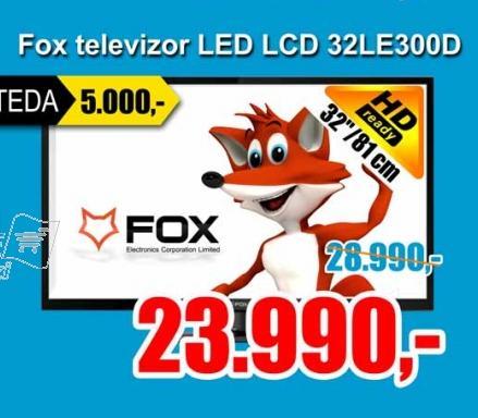 """Televizor LED 32"""" 32LE300D"""