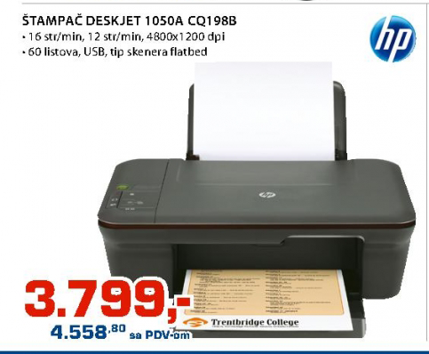 Štampač Deskejt HP 1050A CQ198B