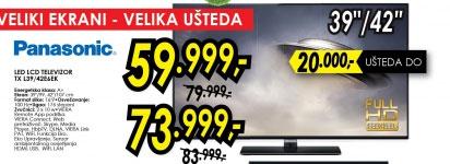 Televizor LED LCD TX-L42E6