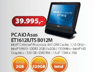 Desktop računar AIO ET1612IUTS