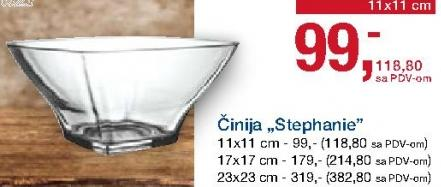 Činija Stephanie 17x17cm