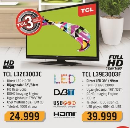 """Televizor LED 32"""" L32e3003c"""