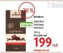 Čokolada Selection