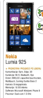 Mobilni telefon Lumia 925