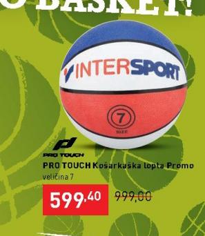 Košarkaška lopta Promo, Pro Touch