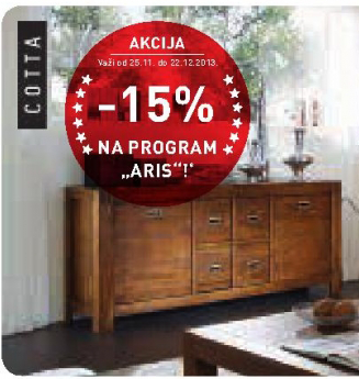 Komoda, složiv program ''Aris''