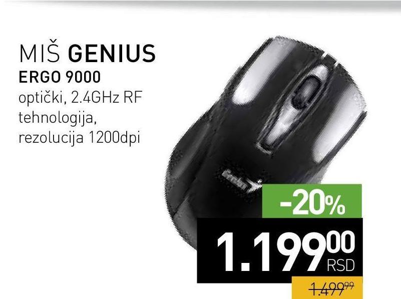 Miš X9000 Omen