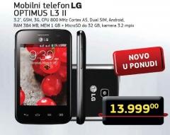 Mobilni telefon OPTIMUS L3 II