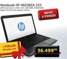 Notebook H6EO6EA 255