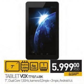 Tablet T715/1.4bk